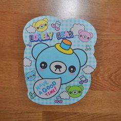 Annons på Tradera: Kawaii björn söt cute musplatta lovely bear