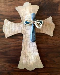 A personal favorite from my Etsy shop https://www.etsy.com/listing/456309362/9-x-12-wooden-cross