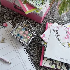 Chinoiserie Peony Postcards | Designers Guild