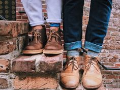 desert boot clarks.  relationship goals.