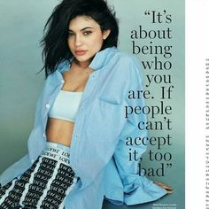 Imagen de kylie jenner, lips, and quote... - Kylie Jenner Style