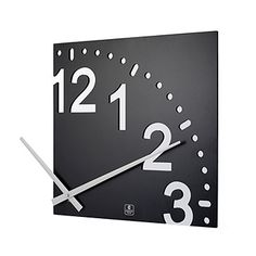 Look what I found at UncommonGoods: infinity wooden wall clock.