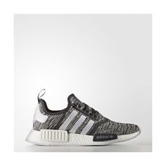 adidas NMD_R1 Shoes - Black | adidas US ($130) ❤ liked on Polyvore featuring