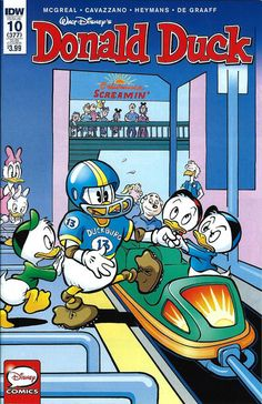 Cover for Donald Duck (IDW, 2015 series) #10 / 377 [Cover A]