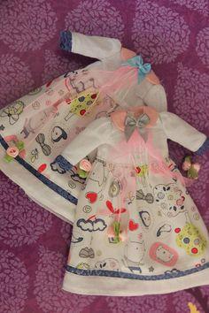 """Pullip Dress/Kleid """"Willkommen im Frühling- Welcome to the Spring"""" ( Honey Dolls )  Kleidung - Hadesflamme - Merchandise - Onlineshop für alles was das (Fan) Herz begehrt!"""