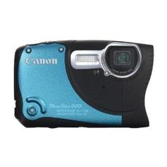 Canon PowerShot D20 12.1 MP CMOS Waterproof Digital Camera with 5x Image Stabilized Zoom 28mm Wide-Angle Lens a 3.0-Inch LCD and GPS Tracking - Zeekler