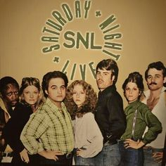 Original Saturday Night Live cast