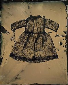 Susan Seubert ~ Dress-O-Gram #1, 2005, tintype, 20 x 16 inches via josephbellows.com