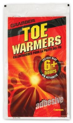 NEW Yaktrax Toe Warmer w//Adhesive up to 5 Hours Safe Max Heat Warmers 3-Pairs