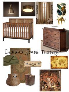 Indiana Jones themed nursery