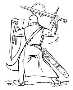 55 Best Knight Coloring Pages images | Coloring pages, Colouring ...