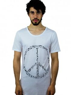 Peace sign t shirt salam freevolution