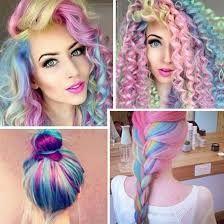 Haare bunt farben test