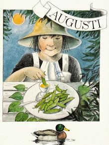 Lena Christine Anderson è una illustratrice svedese. Seasons Months, Weather Seasons, Months In A Year, 12 Months, Elsa Beskow, Vintage Illustration, Pin Up, Hello August, Childrens Books