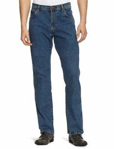 e024e35848 Wrangler Texas Regular Fit Stretch Jeans New Mens Classic Stonewash Blue  Denim #fashion #clothing