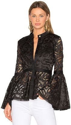 Trending fashion outfits - 41 Ruffle Blouses For School Casual Dresses, Casual Outfits, Fashion Dresses, Lace Dresses, Fashion Clothes, Dress Outfits, Party Mode, Lace Jacket, Lace Cardigan
