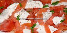 Receta de ensalada de tomate bajas calorías
