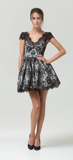 Spring/Summer 2016 Vintage inspired evening gown, 'Tara'.