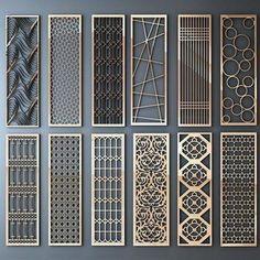 Railing Design, Gate Design, House Design, Divider Design, Screen Design, Design Design, Living Room Partition, Room Partition Designs, Faux Murs