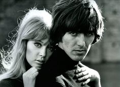 Harrison's namesake and Patti Boyd (the woman who inspired 'Something' and 'Layla')
