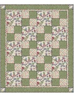 Three-yard Quilt Kit 48 x 58 inches 3 yard quilt patterns free, 10 inch blocks with 4 inch borders. A Quilting Sheep: Quick easy quilt image of quilt top Easy Quilt Patterns For Holiday Table Runners - Make the Star of Hope with Half Square Triangles - Le Diy Quilt, Colchas Quilt, Lap Quilts, Patch Quilt, Small Quilts, Patchwork Quilting, Quilt Blocks, Quilt Top, Amish Quilts