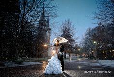 A snowy Wedding by Matt Shumate Snowy Wedding, Wedding Couples, Wedding Pictures, Wedding Bride, Dream Wedding, Wedding Ideas, Wedding Wishes, Engagement Pictures, Wedding Things