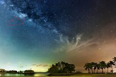 Blogger said: This tutorial shows you how I shoot the Milky Way that's obscured by the extreme light pollution in Singapore, using photography equipment that you may already have and a workflow that probably works on most versions of Photoshop. I will be using a single exposure image that I took from Sentosa, Singapore on 06 March 2014 to show you how it can be achieved without purchasing additional plugins for Photoshop.