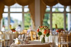 Wedding reception venue: Two Rivers Country Club at Governor's Land in Williamsburg, Virginia. Photo by Holland Photo Arts hollandphotoarts.com / governorsland.com #Weddings #VirginiaWedding #WilliamsburgVA #HRVA