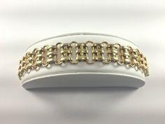 Napier Chain Link Bracelet Minimalist Mid Century by TheArtisanal