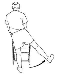 Chair Exercises, Balance Exercises, Knee Exercises, Exercises For Seniors, Hamstring Exercises, Hip Strengthening Exercises, Shoulder Exercises, Fitness Workout For Women, Fitness Diet