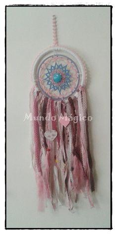 Atrapasueños decoración mandalas artesanal
