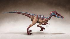 Velociraptor by Marciolcastro