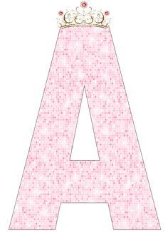 A-Z-- http://eugeniakatia.blogspot.com/2014/08/alfabeto-e-numeros-princesa.html