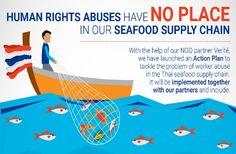 Nestlé toma medidas contra los abusos en la cadena de suministro de pescado y marisco