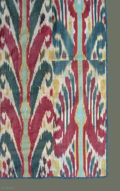IKAT OF CENTRAL ASIA | ... Traditional Textiles of Central Asia. This is one ... | rugrabbit.com