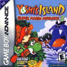 Ypshi's Island: Super Mario Advance 3 - Game Boy Advance Box