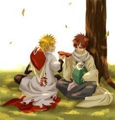 Hokage Naruto & Kazekage Gaara