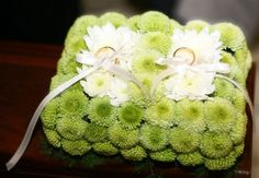 Cuscino porta fedi in begonia