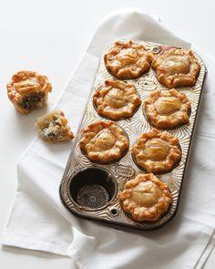Recette: Tourte aux champignons, courgette et crème fraîche aux câpres.