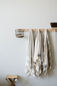 Turkish towels at MUR lifestyle Cheap Home Decor, Diy Home Decor, Turkish Bath Towels, Luxury Bath, Bathroom Towels, Kitchen Towels, Decoration, Home Remodeling, Interior Decorating