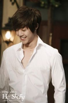 Kim Hyun Joong 김현중 ♡ adorable ♡ smile ♡ Kdrama ♡ Kpop ♡ Boys Over Flowers ♡ Hot Korean Guys, Korean Men, Korean Actors, Korean Dramas, Brad Pitt, Kim Joon Hyun, Yoona, Snsd, Kim Hyung