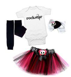 Muito fofo esse e-commerce, só de roupas punk para bebês. Entrega no Brasil, mas o valor do frete sabe como é, né?
