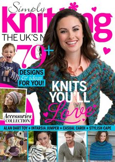 Simply Knitting Issue 129  2015 - 紫苏 - 紫苏的博客