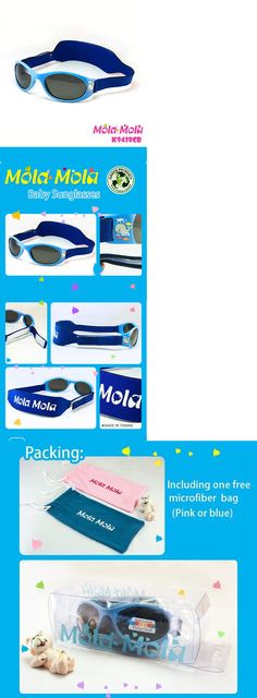 073167c2de Sunglasses 176967  Baby Sunglasses Boy Sport Polarized Blue Safety Head Strap  1-3 Years
