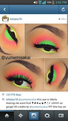 Super easy and cute look makes me want fruit .