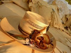 Exquisite Hats by designer Carol Carr