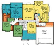 Plainview  2222 - Traditional Home Plan at Design Basics