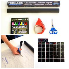 VersaChalk's black vinyl chalkboard contact paper is easier to apply and less permanent than chalkboard paint. Use it to make a chalkboard wall calendar, as shelf liner or drawer liner paper, or to make custom chalkboard stickers! The possibilities are endless. Check us out on Amazon http://amzn.to/1FXNSlT #chalk #chalkboard #chalkboardart #chalkboardpaper #versachalk #love #diy #artsy #artsandcrafts #instagood #instadaily #instamood #instalike #amazon #art #artwork #artist #paper