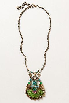 Verte Strata Necklace #anthropologie