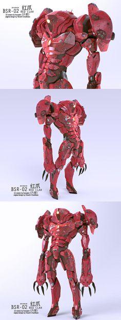 red claw by ~Hexaylon on deviantART